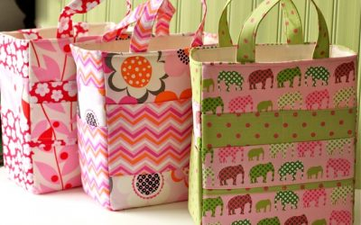 Pattern Feature: The Art Caddy Tote