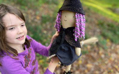 A Little Witch Doll for Marion